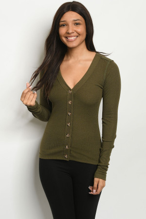 S24-1-1-T181677 OLIVE TOP 2-2-2