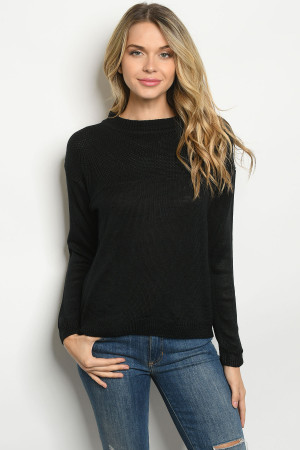 S2-10-2-S2392 BLACK SWEATER 3-3