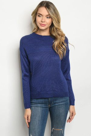 S2-5-1-S2392 ROYAL BLUE SWEATER 3-3