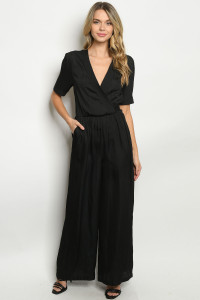 S2-6-1-J70079 BLACK JUMPSUIT 3-2-1