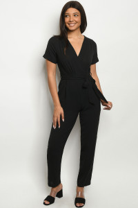 SA3-6-2-J5897 BLACK JUMPSUIT 2-2-2