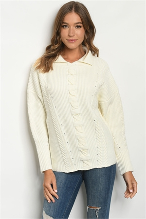 SA3-5-1-S23 CREAM SWEATER 2-2-2