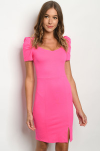 C74-A-1-D50039 FUCHSIA DRESS 2-2-2