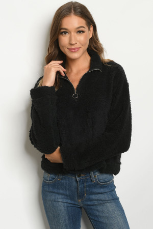 Y-B-S3211 BLACK SWEATER 2-2-2