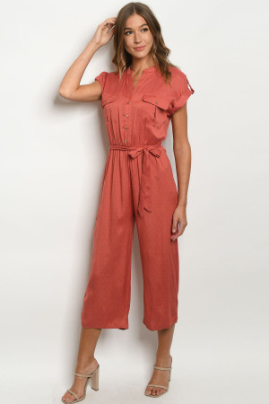 S20-11-2-J7164 BRICK JUMPSUIT 3-2-2