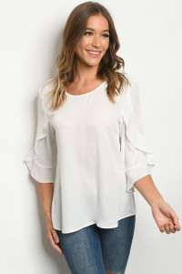 S23-13-3-T1088 OFF WHITE TOP 2-2-2-2