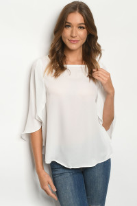 S21-10-3-T1087 OFF WHITE TOP 2-2-2-2