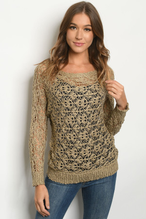 S2-7-3-S8946 TAUPE SWEATER 3-3