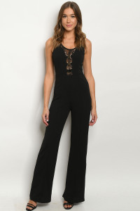 S8-11-1-J7897 BLACK JUMPSUIT 2-2-2