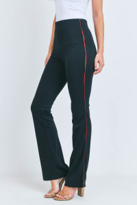 S20-12-1-P7171 BLACK RED PANTS 3-2-1