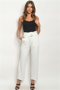 S2-10-2-P4200 OFF WHITE PANTS 2-2-2