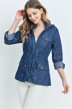 S8-7-1-J8670 DARK DENIM JACKET 2-2-2
