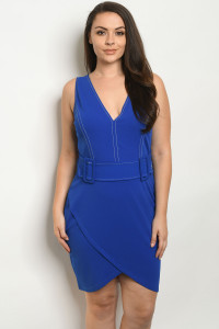 S18-12-1-S6275X ROYAL PLUS SIZE DRESS 1-2-2