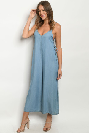 S4-9-2-J4096 BLUE DENIM JUMPSUIT 2-2-2