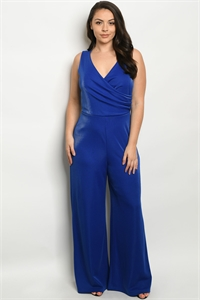 SA4-4-2-J1767X ROYAL PLUS SIZE JUMPSUIT 2-2-2