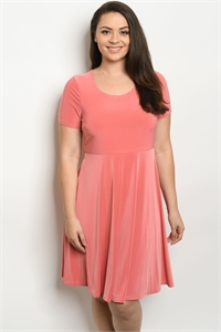 C12-A-1-D8586X MAUVE PLUS SIZE DRESS 2-2-2