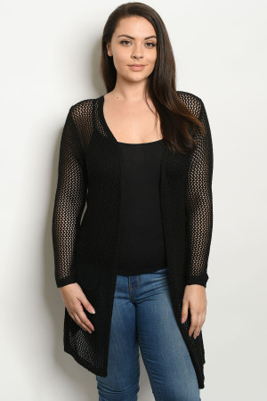 S9-3-2-C1127X BLACK PLUS SIZE SWEATER 3-3