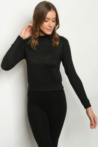 C54-A-1-T21263 BLACK SWEATER 2-2-2