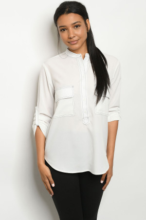 S13-2-1-T080 OFF WHITE TOP 2-2-2