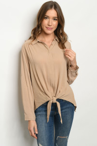S13-2-1-TF158 TAUPE TOP 2-2-2
