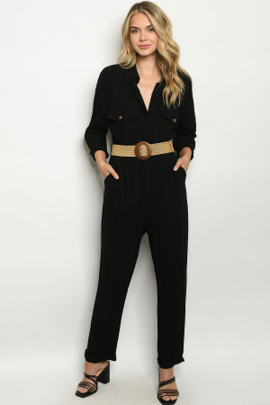 S12-1-1-J20026 BLACK JUMPSUIT 2-2-2