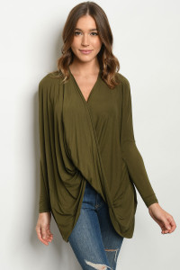 C64-A-1-T9796 OLIVE TOP 3-2-1