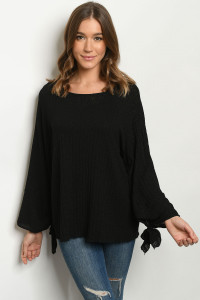 C82-A-1-T9669 BLACK SWEATER 4-2-1