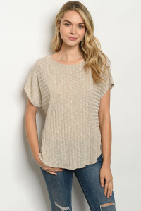 C6-B-2-T25040 TAUPE TOP 3-2-1