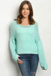 S10-9-1-S9744 MINT SWEATER 3-2-1