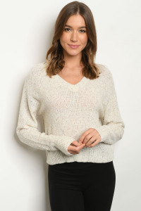 S11-2-1-T9901 OATMEAL SWEATER 3-2-1