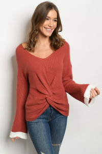 S9-6-1-S5002 BRICK SWEATER 2-2-2