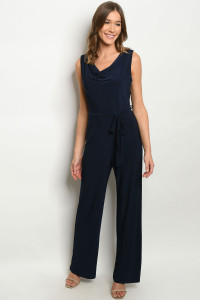 S14-1-2-J2710 NAVY JUMPSUIT 2-3-2