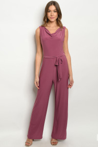S14-1-2-J2710 GRAPE JUMPSUIT 1-2-2