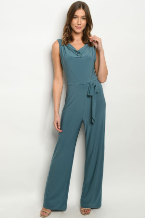 S9-4-2-J2710 LIGHT TEAL JUMPSUIT 2-2-2