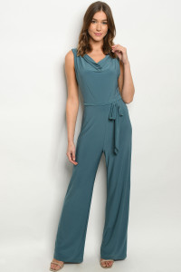 S14-1-2-J2710 LIGHT TEAL JUMPSUIT 1-3-3