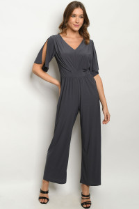 S9-9-2-J1498 CHARCOAL JUMPSUIT 2-2-2