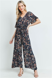 C18-A-3-J2105 NAVY WITH PAISLEY PRINT JUMPSUIT 2-2-2