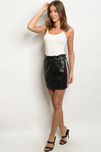 S8-8-1-S7313 BLACK RED SKIRT 3-2-1  ***WARNING: California Proposition 65***