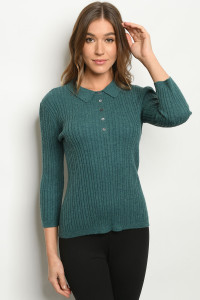 S9-5-1-S994 TEAL SWEATER 2-2-2