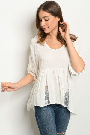 S12-12-1-T12920 OFF WHITE TOP 2-2-2