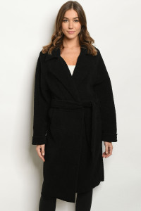 S20-4-1-C2007 BLACK COAT / 3PCS