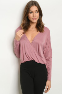 S23-13-1-T1394 MAUVE SWEATER 3-2-1