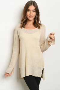 S20-6-2-T11117 NATURAL SWEATER 2-2-2