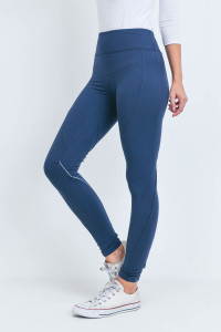 S23-12-1-L1032 NAVY LEGGINGS YOGA PANTS 2-2-2