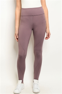 S14-10-2-L1032 MAUVE LEGGINGS YOGA PANTS 3-2-2