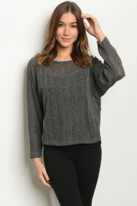 S22-12-1-T7941 CHARCOAL SWEATER 2-2-2