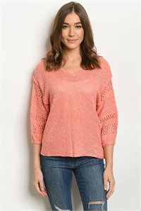 S23-11-2-S20993 CORAL SWEATER 4-3