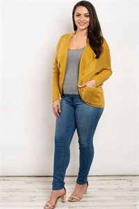 S8-12-1-S9039X MUSTARD PLUS SIZE SWEATER 3-3