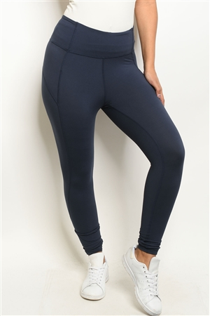 S18-5-1-L1080 NAVY LEGGINGS 2-2-2