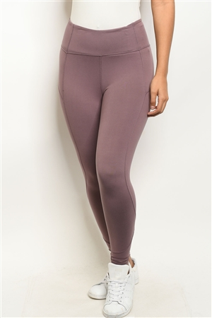 S18-6-2-L1080 MAUVE LEGGINGS 2-2-2